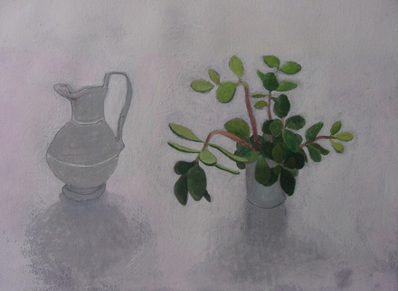 Jug and flowers